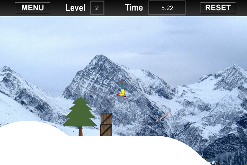 Screenshot Turbo Snow Skiing Micro